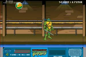 Ninja Turtles Spinter Rescue