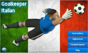 Goalkeeper Italian