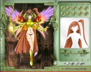 Goddess of War Dress Up