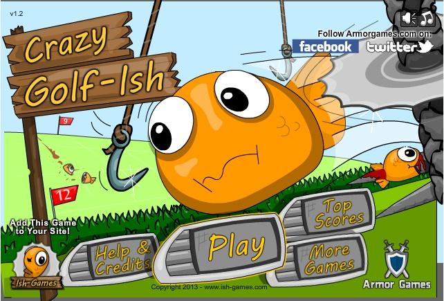 Crazy golf lsh game