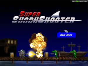Super Shark Shooter Game