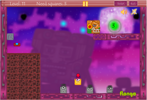 Square Adventures Game