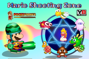 Mario Shooting Zone game